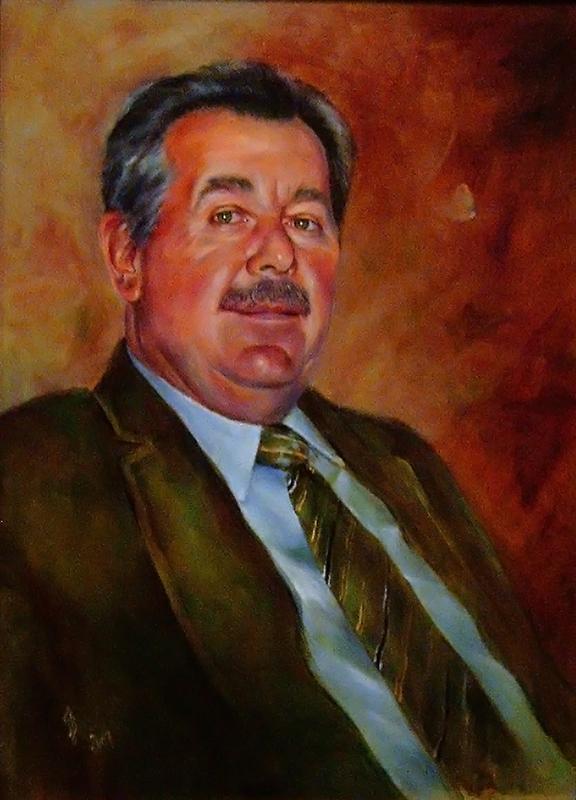 Portréfestmény