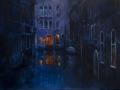 Velence: Olaj- vászon 50x70 cm