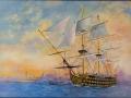Viktory : Olaj-vászon  50x70 cm