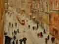 Istambul: Olaj-vászon 50x70 cm