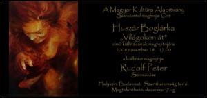 Rudolf Péter megnyitója